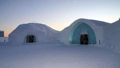 the Icehotel in Jukkasjärvi, Sweden