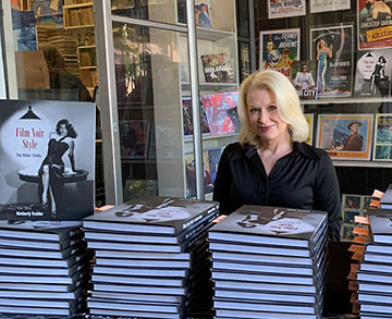 Kimberly Truhler with copies of her book