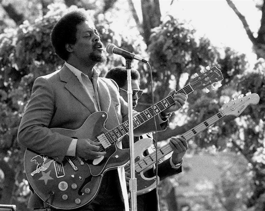 Luther Tucker at the 1964 Fountain Blues Festival, San Jose