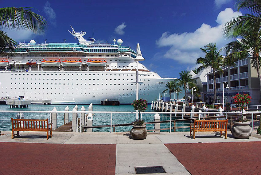 Majesty of the Seas at Key West