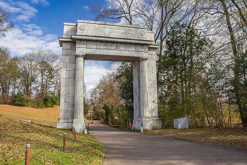 Memorial Arch, Vicksburg National Military Park