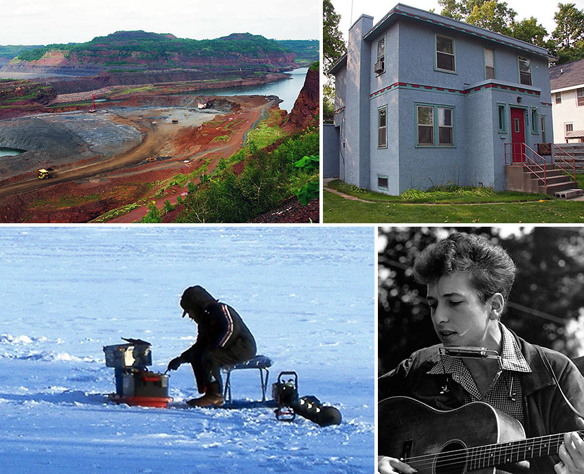 scenes from Minnesota and Bob Dylan