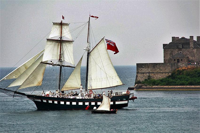 old Fort Niagara on the Niagara River