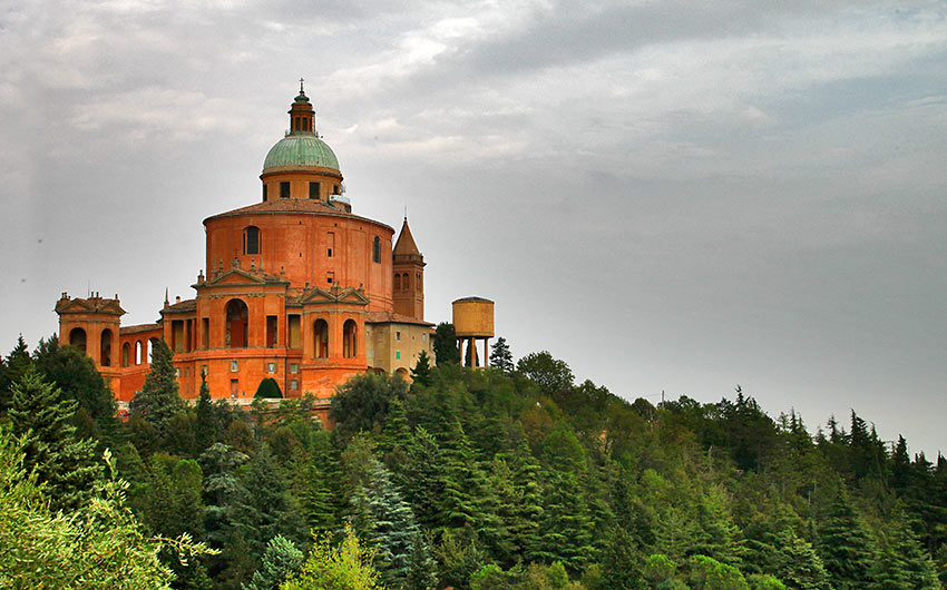 the Sanctuary of the Madonna of San Luca