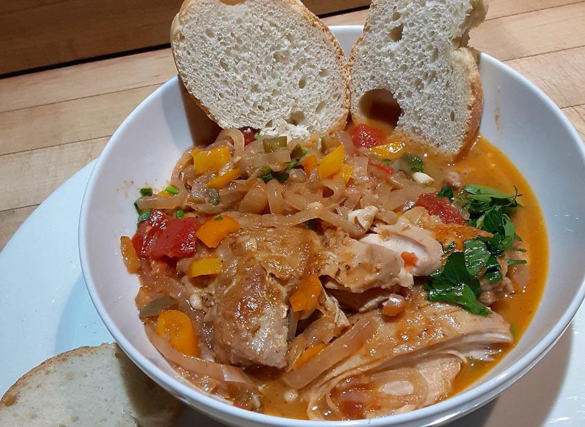 Spanish Chicken Chilindron