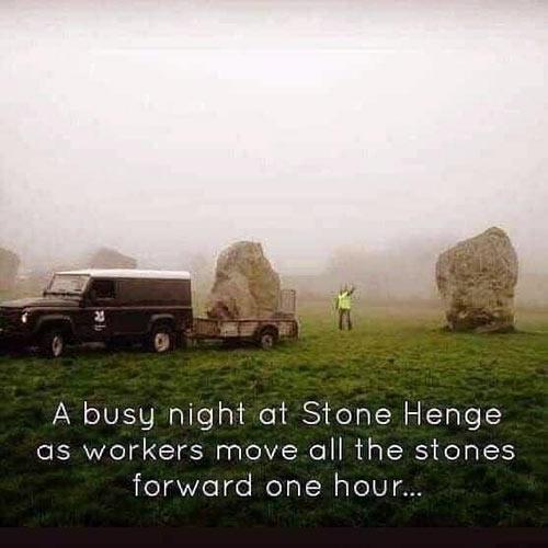 Parting Shots: Stonehenge Day Save