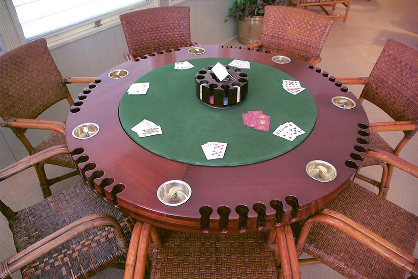 Truman Poker Table