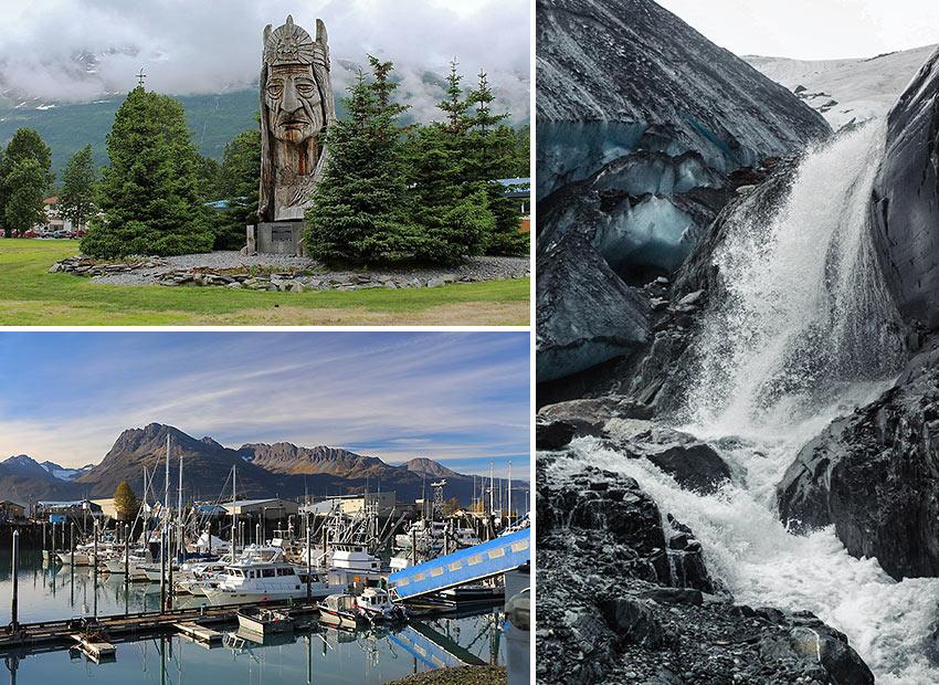 scenes from Valdez, Alaska