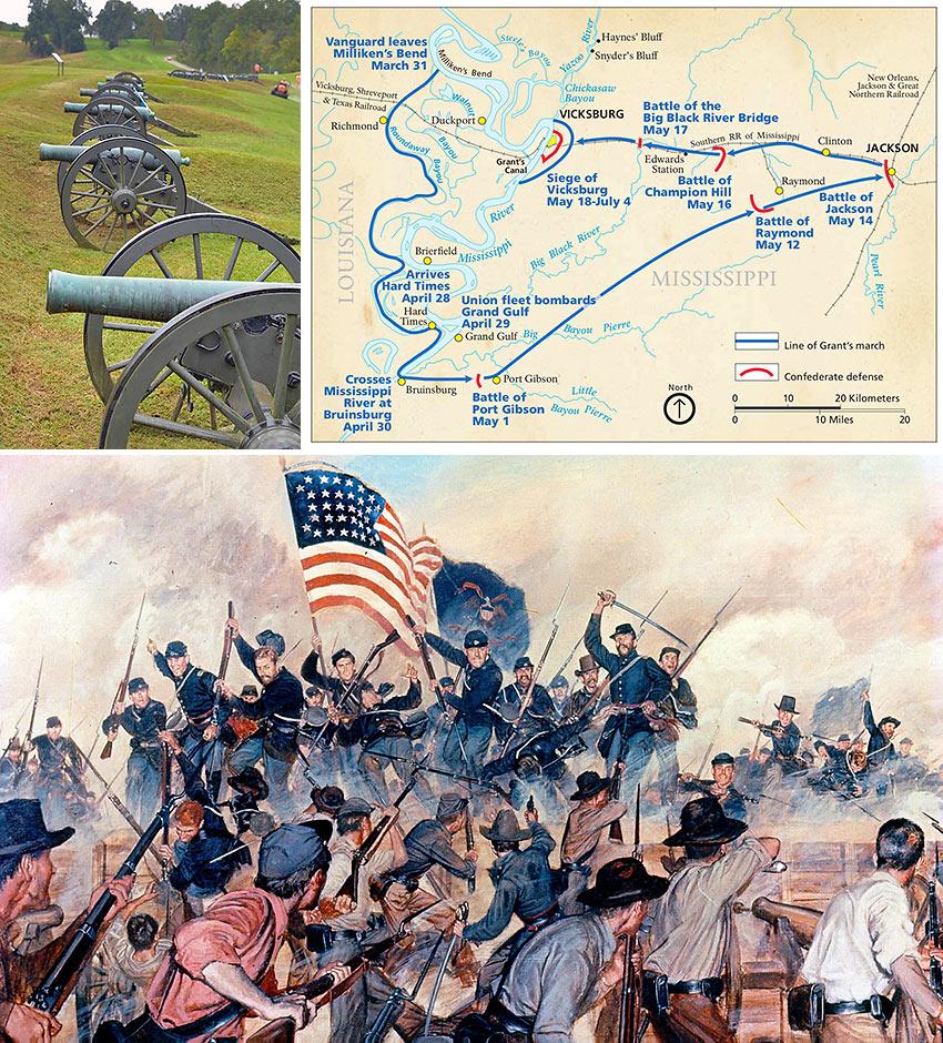 Vicksburg National Military Park and the Battle for Vicksburg, 1863