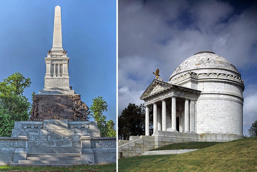 Mississippi Monument and Illinois Memorial, Vicksburg National Military Park