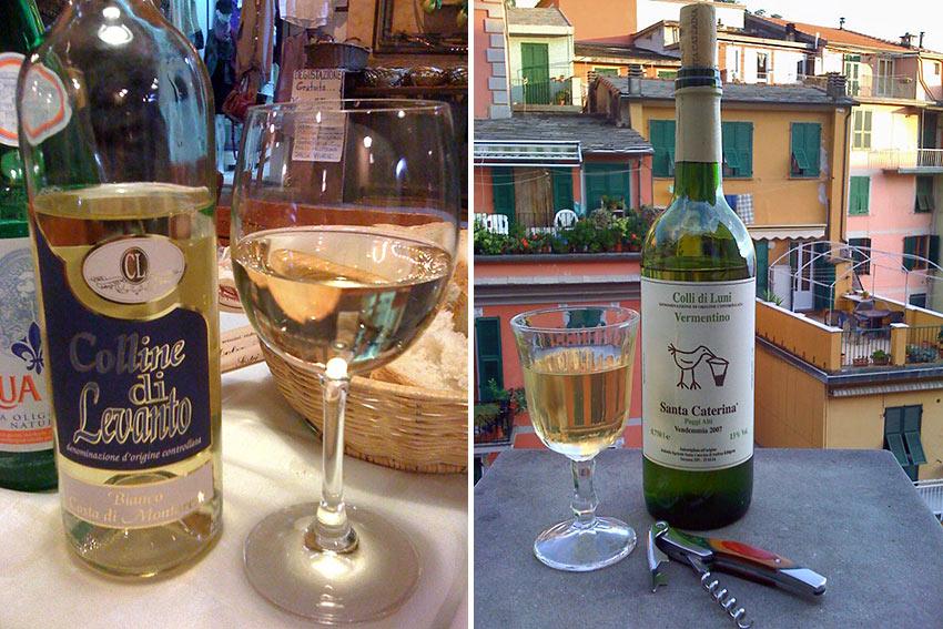 white wine varieties from Liguria