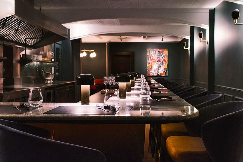 the bar at Frevo