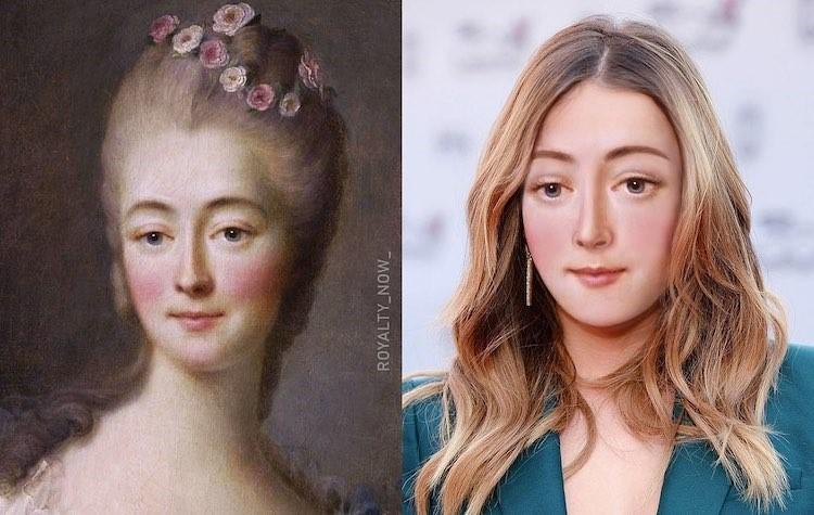 Anne Boleyn digitally reimagined by Becca Saladin