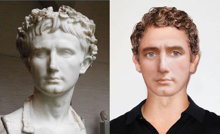 Augustus digitally reimagined by Becca Saladin