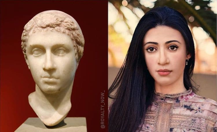 Cleopatra digitally reimagined by Becca Saladin