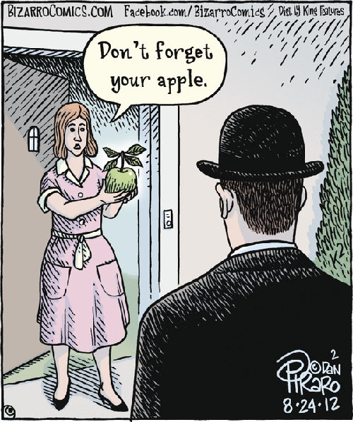 Parting Shots: Don't Forget Your Apple