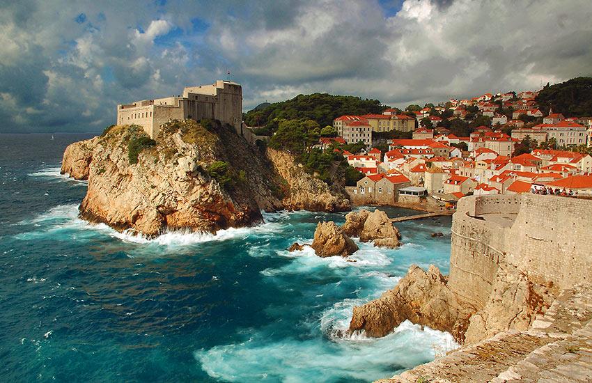 Fort Lovrijenac and Fort Bokar, Dubrovnik, Croatia