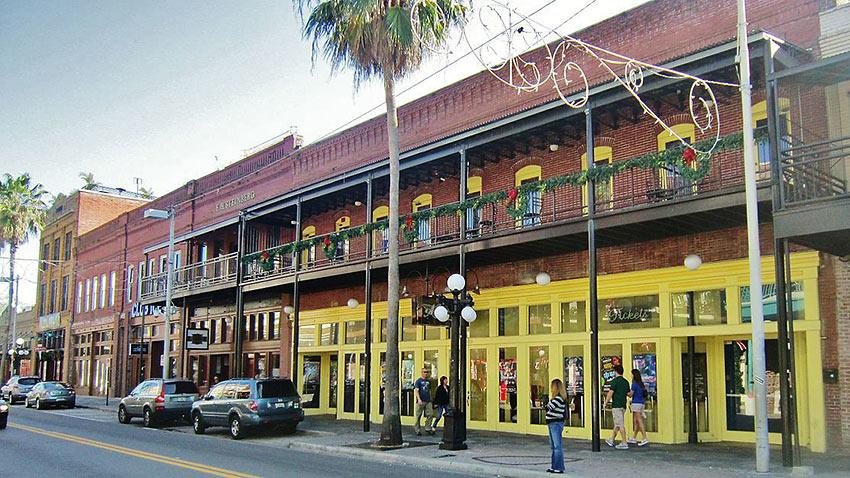 Tampa's historic Ybor City