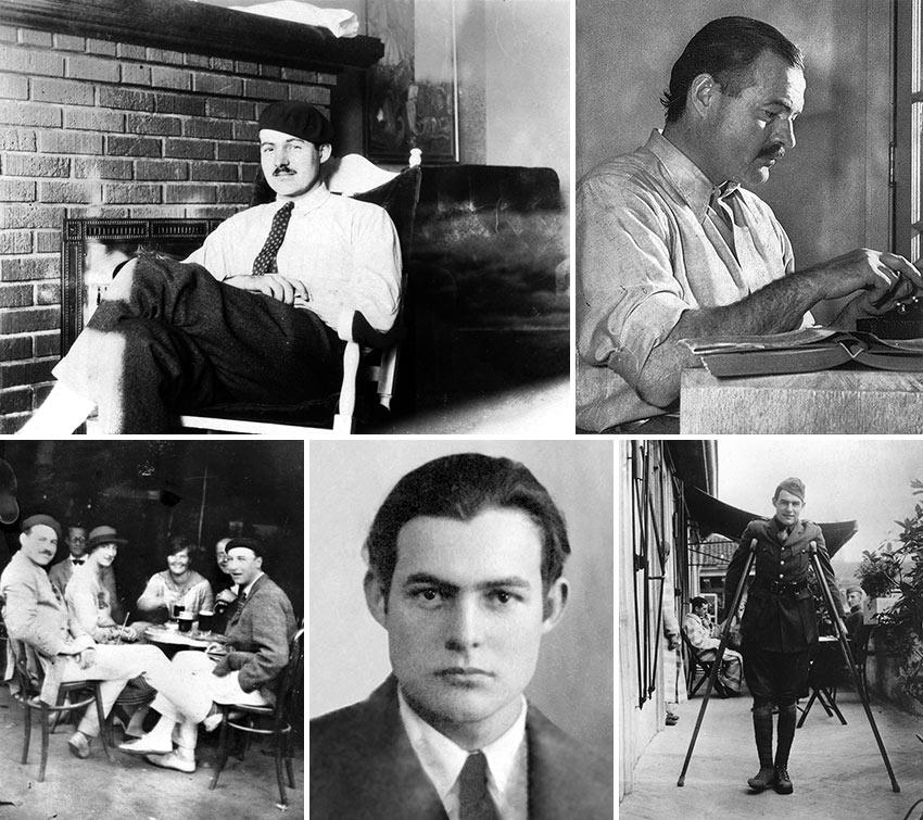 photos of Ernest Hemingway through the years