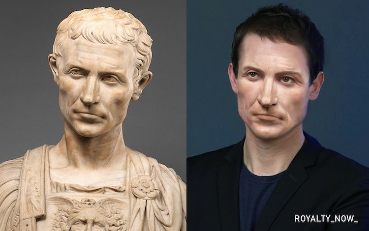 Julius Caesar digitally reimagined by Becca Saladin