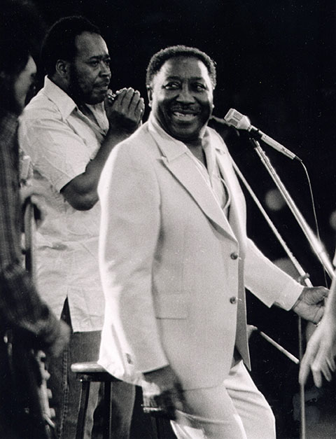 James Cotton with Muddy Waters