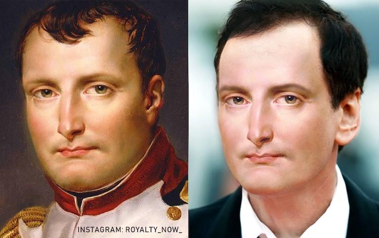 Napoleon Bonaparte digitally reimagined by Becca Saladin