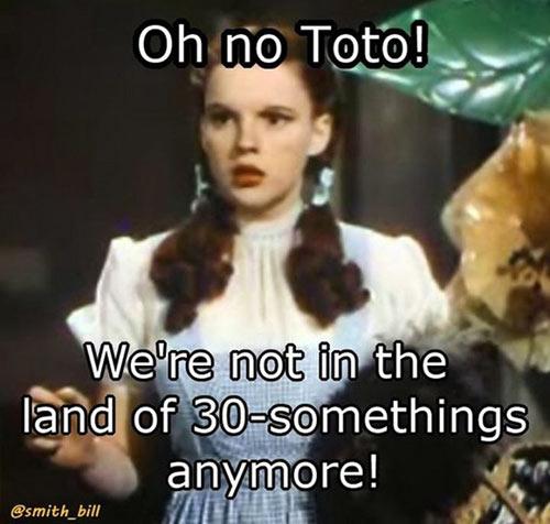 Parting Shots: Oh no Toto!