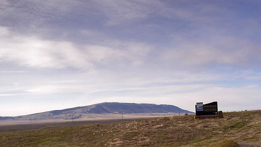 Rattlesnake Mountain in Hanford Reach National Monument
