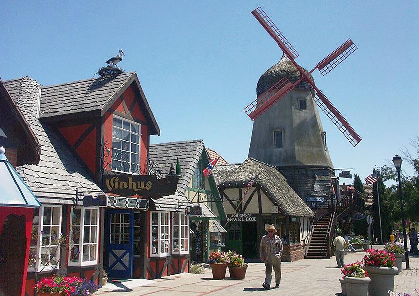 windmill at Solvang, CA