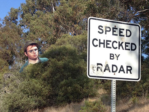 Parting Shots: Speed Check