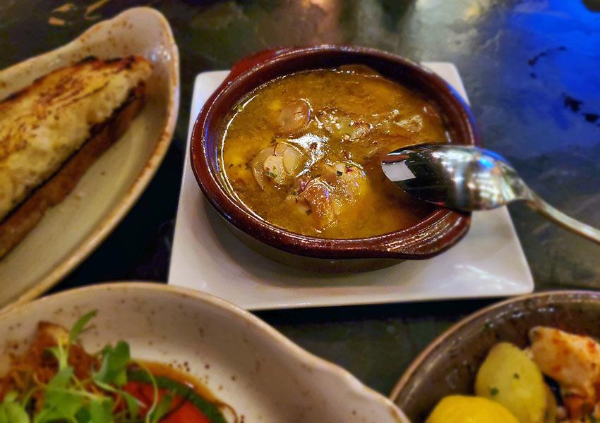 Spanish tapas at Vaca restaurant