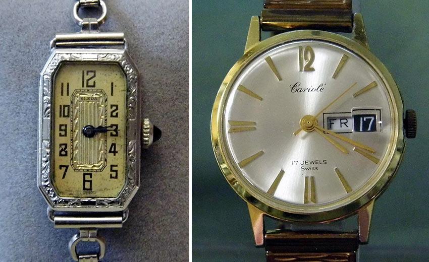 vintage Swiss watches
