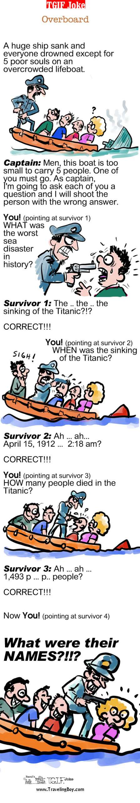 The Titanic Joke