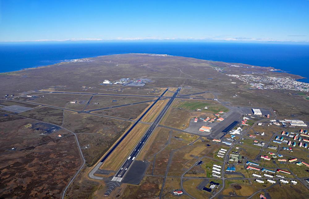Iceland's Keflavik Airport