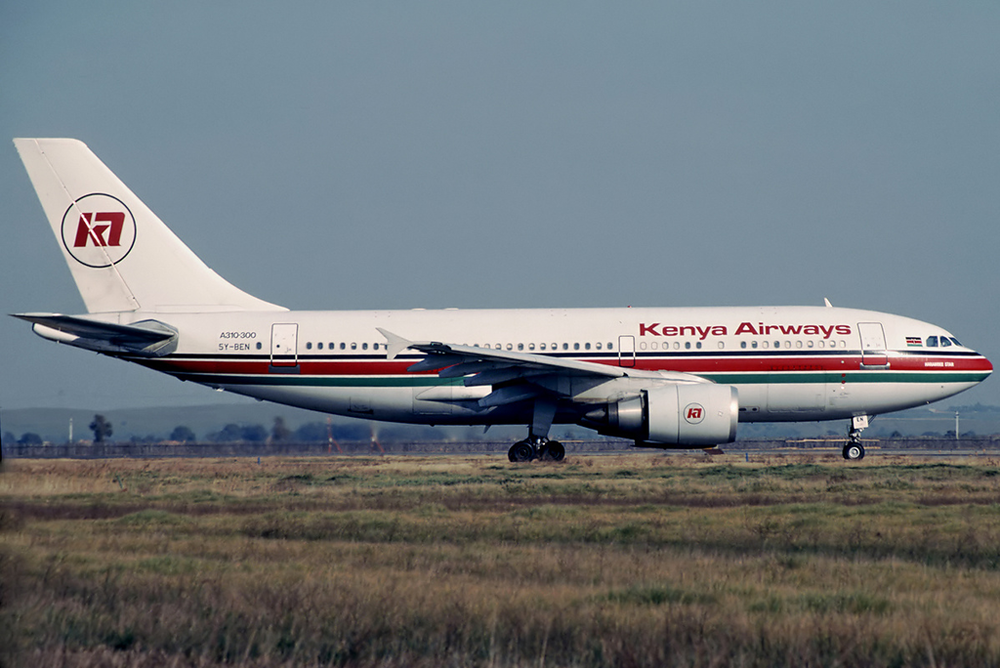 Kenya Airways Attached. Courtesy Wikimedia Commons